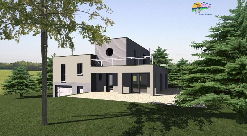 Plan maison contemporaine gratuit for Plans de maisons individuelles gratuits