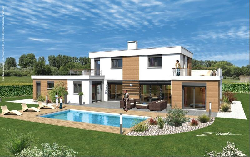 Maisons sorel modele maison archi 1 is re 38 univia for Constructeur maison bourgoin jallieu