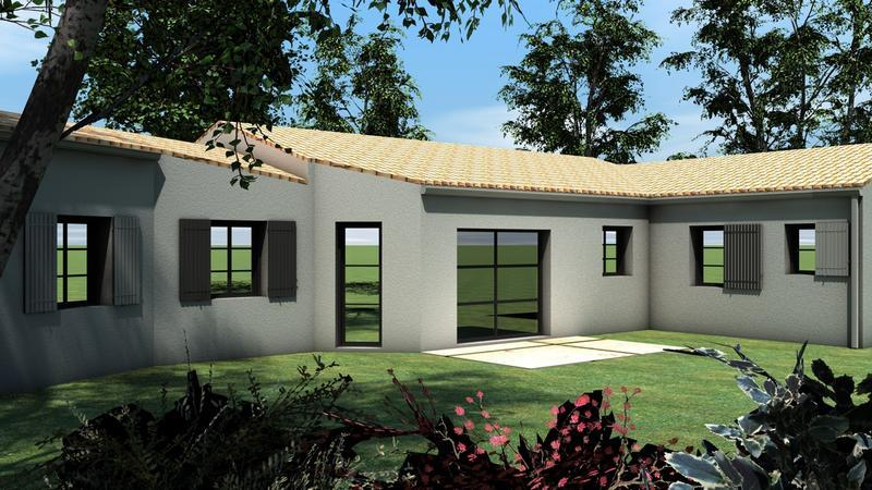 Maap construction modele maison style charentais for Constructeur maison contemporaine charente