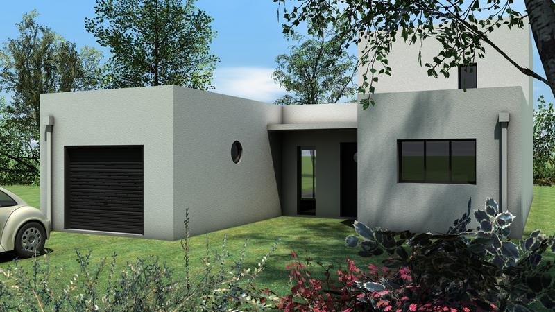 Maap construction modele maison toit plat charente for Construction toit plat
