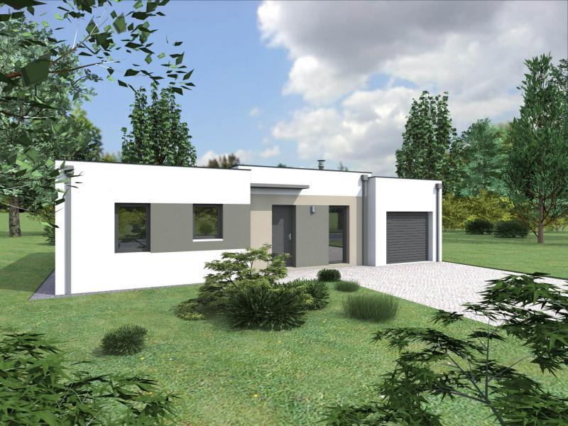 Modele maison constructeur maison contemporaine datis for Constructeur maison contemporaine