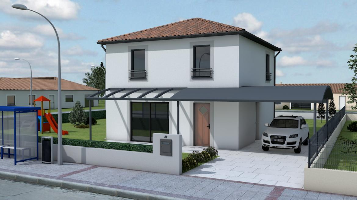 Maisons hadoc constructeur maison lot 46 for Assurance construction maison individuelle