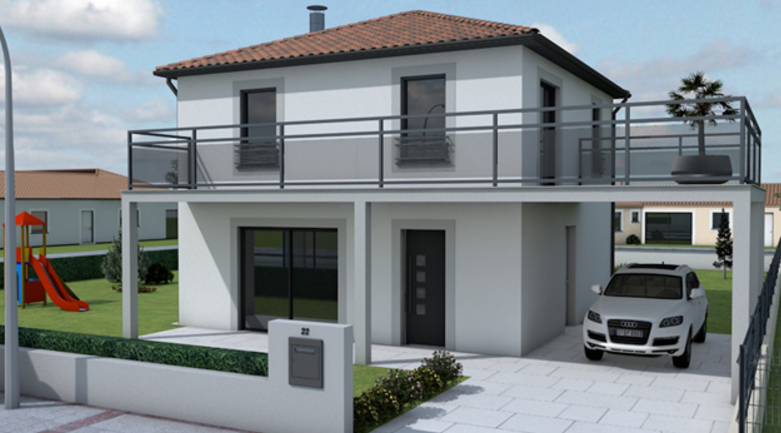 Maisons hadoc constructeur maison lot 46 for Liste construction maison