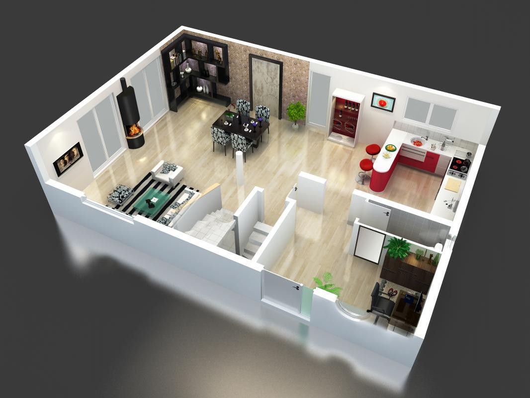 Best Modle De Maison N With Plan 3d Maison