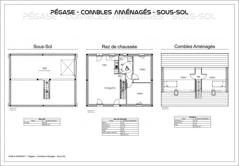 Placard sous pente bricomarche villeneuve d 39 ascq saint for Plan amenagement combles phenix